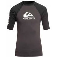 Quiksilver On Tour UV-Shirt Kurzarm black V.2