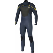 Prolimit Fusion Fullsuit Front-Zip 5/3mm slateblack/yellow