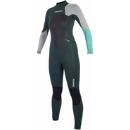 Mystic Star Fullsuit Women 5/4mm teal L 40