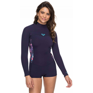 Roxy Syncro Ser Shorty Back-Zip Langarm 2mm blue ribbon