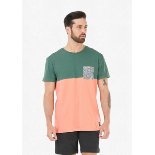 Picture Evans Pocket Tee kaki peach