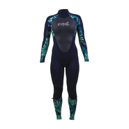 ONEILL Wms Epic 5/4 Back Zip Full Abyss/Faro/Abyss 8