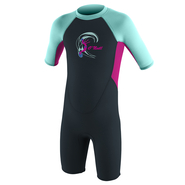 ONEILL Toddler Reactor-2 2mm Back Zip S/S Spring - Girls...