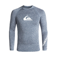Quiksilver Alltime UV-Shirt Langarm dark denim heather
