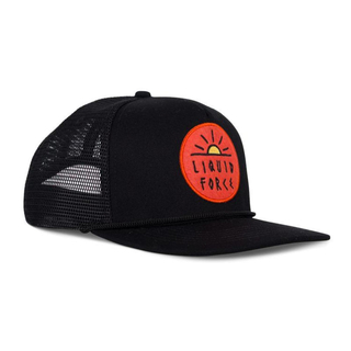 Liquid Force Sun Patch Trucker Snapback black