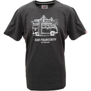 VanOne Classic Cars San Francisco T-Shirt washed black/white