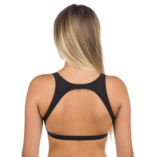 Rip Curl Mirage Ultimate Crop Bikini Oberteil black