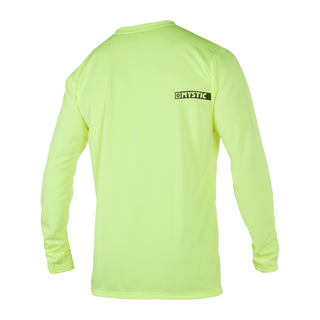 Mystic Star Quickdry Langarm UV-Shirt lime