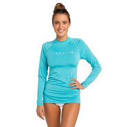 Rip Curl Sunny Rays Relaxed UV-Shirt Langarm light blue