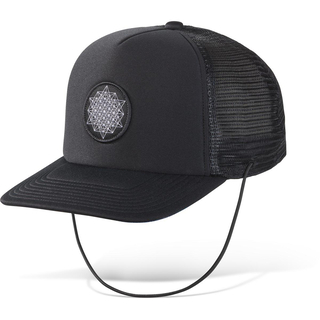 Dakine Kassia Lock Down Trucker Surf Cap black