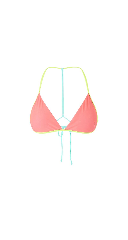 MYSTIC Chrissy Bikini Top Faded Coral Faded Coral XL 42 35109.190671