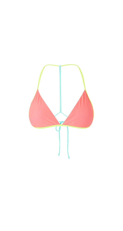 MYSTIC Chrissy Bikini Top Faded Coral Faded Coral M 38 35109.190671