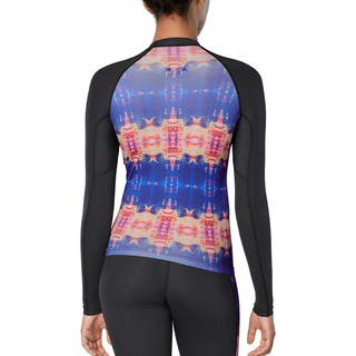 Dakine Womens Flow Print Snug Fit UV-Shirt Langarm kassia