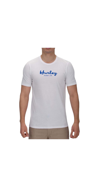 Hurley Dri-Fit Seagull Script T-Shirt white XXL 56 BQ0123 100