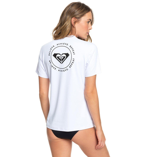 Roxy Enjoy Waves UV-Shirt Kurzarm bright white
