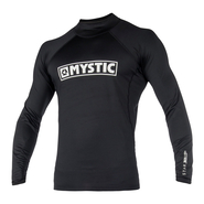 MYSTIC Star L/S Rashvest Junior Black