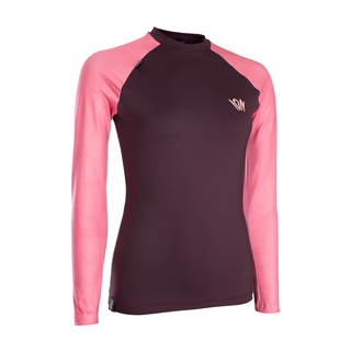ION Rashguard Women LS Red 42/XL