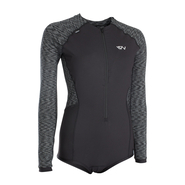 ION Muse Swimsuit LS black melange