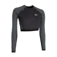 ION Muse Shorty Rashguard LS black melange