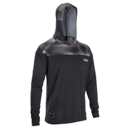 ION Wetshirt Hood Men LS Black 52/L