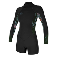 ONEILL Wms Bahia 2/1 Back Zip L/S Spring...
