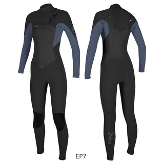 ONEILL Wms Epic 5/4 Chest Zip Full Blk/Mist S 36
