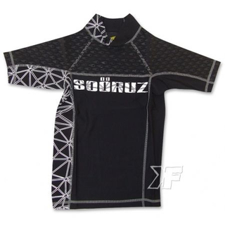 CORPO KID UV-Shirt Soöruz Kurzarm Kinder Black