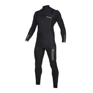MYSTIC Marshall Fullsuit 3/2mm Fzip Black/Mint