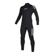 MYSTIC Star Fullsuit 3/2mm Double Fzip Black LS